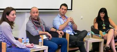 Kim Slender, Dr Arne Rubinstein, Adam Schwartz, Joanne Fedler at 2015 festival