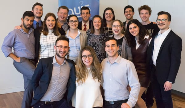 The AUJS team
