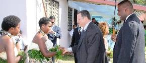 Ambassador Shmuel Ben-Shmuel's visit to Vuma Fiji