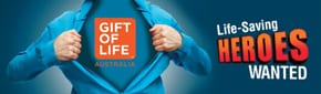 Oct-22   Sydney:   Gift of Life enrolling potential stem donors