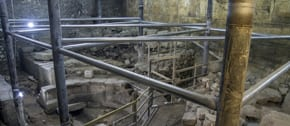 New portions of Western Wall and Roman theatre unveiled in Jerusalem