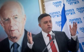Leader of Israel's Left slants right amid a changing political map