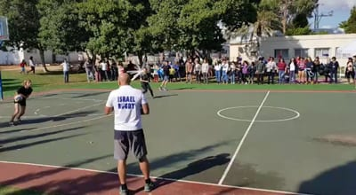 Rugby3 - Rugby fever breaks out at Israeli school