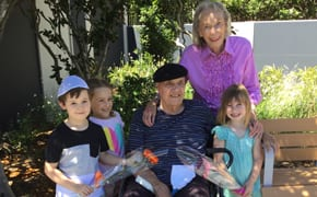 Preschoolers share Chanukah with Aged Care residents