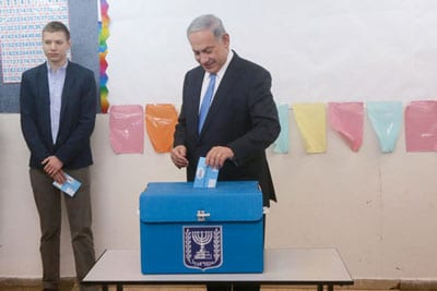 Israeli opposition leader urges elections amid Netanyahu's corruption probes