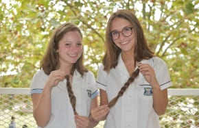 Moriah students shed their hair to help kids with cancer