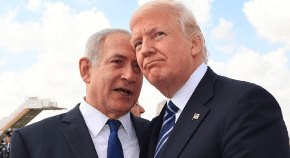 Trump asks Netanyahu if he really wants peace with the Palestinians