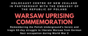 Jun-24   Wellington NZ:   Warsaw Uprising commemoration