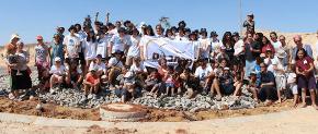 Carmel students visit the Negev