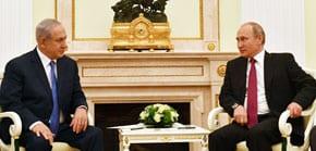 Netanyahu to Putin: Iran needs to leave Syria
