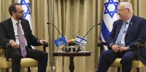 EU ambassador reprimanded again for 'interfering with Israeli legislation'