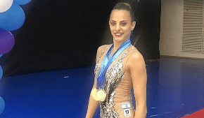 Israeli gymnast breaks world record to take home the gold