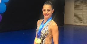 Israeli rhythmic gymnast qualifies for 2020 Olympics, earns six medals in world championship