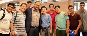 Sydney rabbi tells Boys Town Jerusalem students: let's help each other