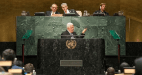 UN votes to give 'State of Palestine' leadership of developing-nations bloc