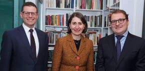 Premier Berejiklian pays tribute to Jeremy Spinak