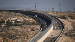 Israeli and Palestinian drivers celebrate new road, as critics accuse Israel of 'apartheid'