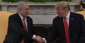 Netanyahu meets Trump and the recognition of Golan is signed