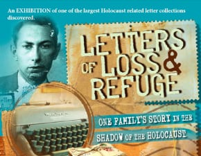 Letters of Loss and Refuge: an exhibition at Sydney's B'nai B'rith Centre