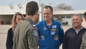 'Your opportunities are limitless,' NASA astronaut tells Israel Air Force personnel