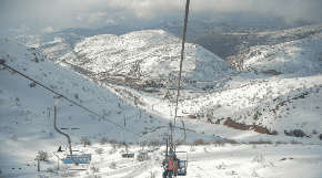 Passover snow falls on Mount Hermon for first time in 22 years