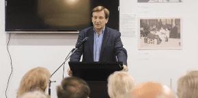 Ron Hoenig talks government at JewishCare