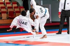 'Hatikvah' played at Abu Dhabi's Jiu-Jitsu World Tournament as Israel takes Gold