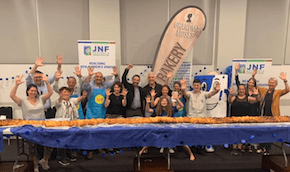 10m challah going into Guiness Book of Records