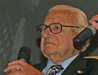 Sir Nicholas Winton...at the age of 103