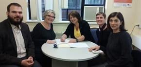 Jewish Care Signs MOU with Jewish Mediation Centre