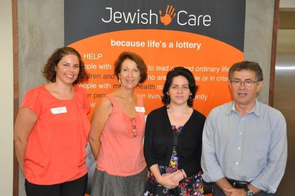 Caroline Santangelo, Stephanie Maraz, Simone Montgomery and Ilan Buchman
