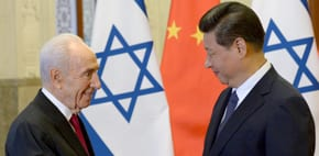 Chinese Deputy Minister of Foreign Affairs meets Peres' family
