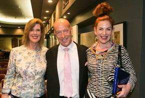 Deborah Thomas, Max Markson and Joanna Weinberg
