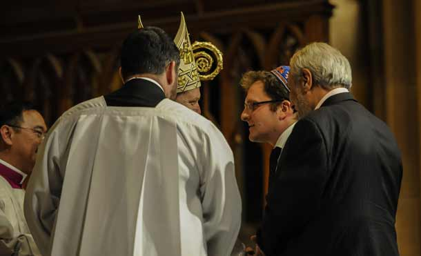 Jeremy Spinak meets Archbishop Anthony