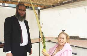 Sukkah brings succour