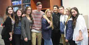BJE entertains students from Israel
