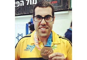 Barak's big day – Paralympian finally breaks through for a medal at fourth Maccabiah.