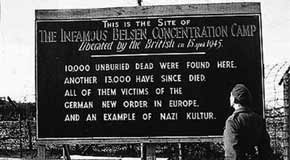 A personal account of the liberation of the Bergen concentration camp