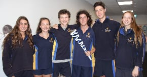 Bialik's athletes meet the torch