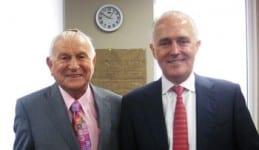 Carl Rose and Malcolm Turnbull