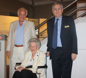 Peter Kamfner, Judy Cassab and Norman Seligman