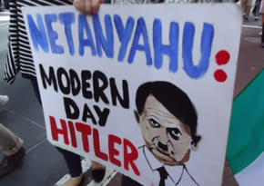 Antisemitism on parade
