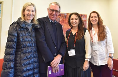 Orli Wargon, David Gonski, Kathy Shand and Michaela Kalowski