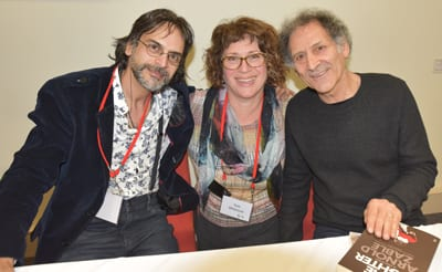 Kooshyar Karimi, Toni Whitmont and Arnold Zable