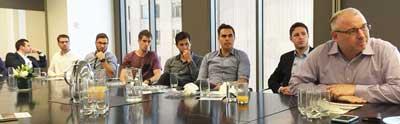 Daniel Chinn at the meeting