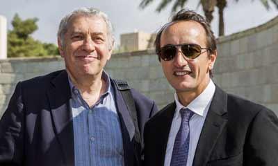 Dr Danny Lamm and Australian ambassador Dave Sharma