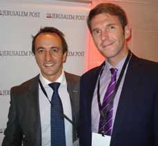 Australian Ambassador Dave Sharma with Third Secretary Ben Rhee