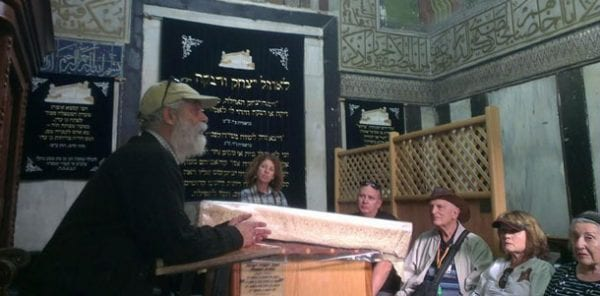 David Wilder explains the Cave of the Machpela