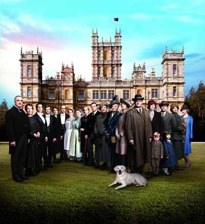 Downton Abbey Series V cast