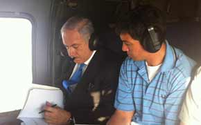 Prime Minister Netanyahu with Dr Yoaz Hendel